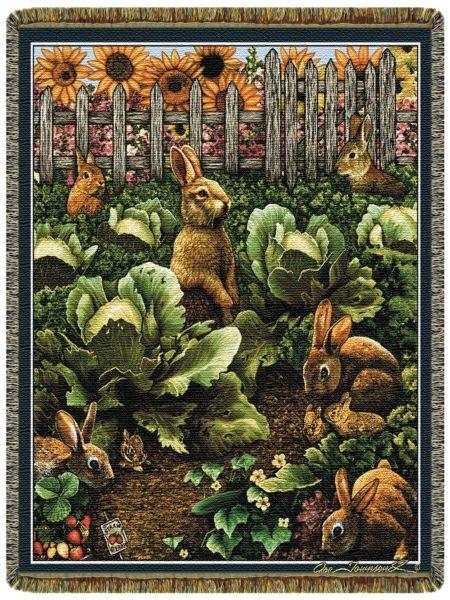 Bunnyrabbit Com Home Decor Afghan Rabbit Blanket Rabbit
