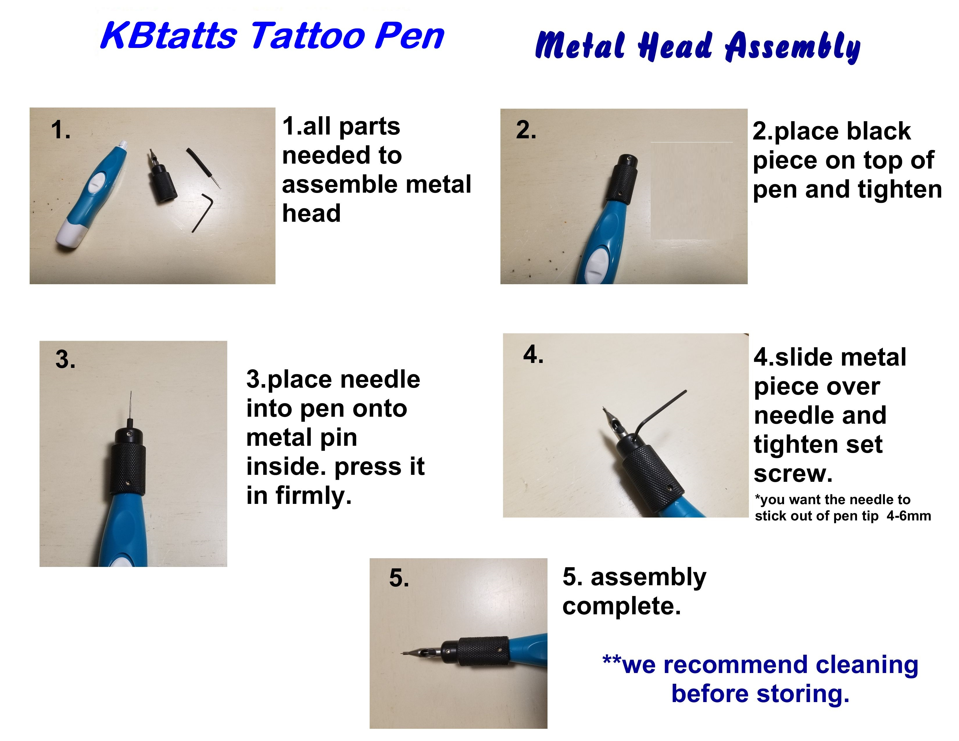tattoo machine assembly instructions
